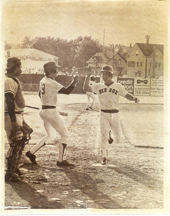 After 33 innings, the PawSox's Marty Barrett scored the run that ended the longest game ever played in pro baseball