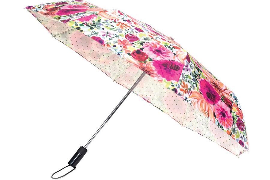 Kate Spade Dahlia Umbrella, $48. Barrington Books, Barrington and Cranston.   BarringtonBooks.com