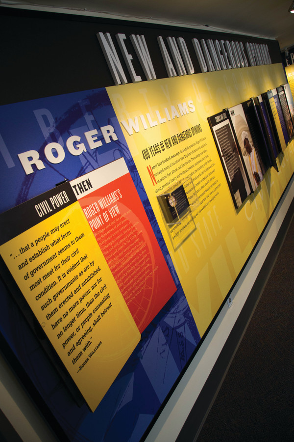 New and Dangerous Opinions, an exhibit at the Roger Williams National Memorial, reveals how the Rhode Island founder's ideas are more relevant than ever