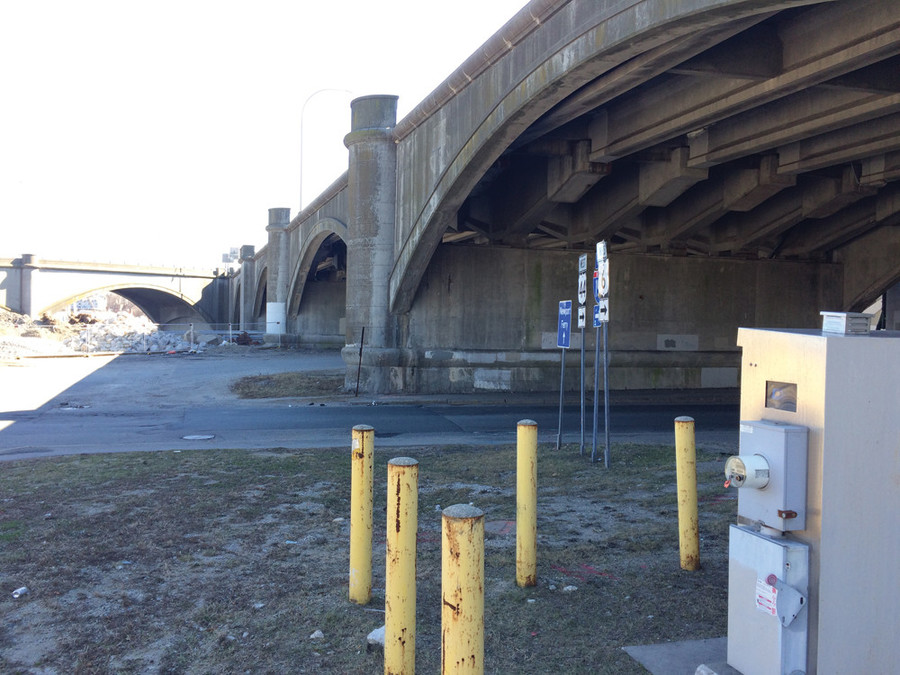 RIDOT has agreed to fund limited construction of the Gano Gateway to address the 90-degree turn and piles of debris