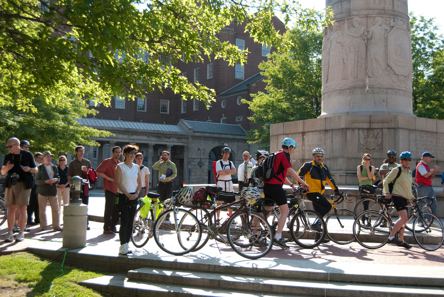 Pump up your tires and grease your spokes: it's time for Bike Month