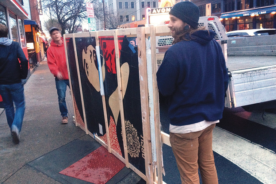 Nice Slice is moving to the West Side and yes, they're bringing the Shepard Fairey with them.