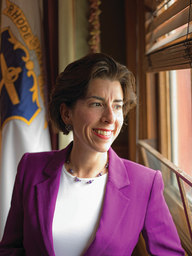 The key to Rhode Island's future, according to Governor Raimondo, is a population that's educated, computer literate and able to think creatively
