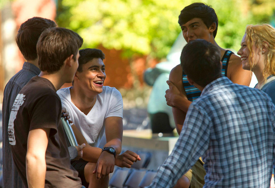 Cliff Weitzman (center) landed on Forbes' 30 Under 30 list with his new app, Speechify