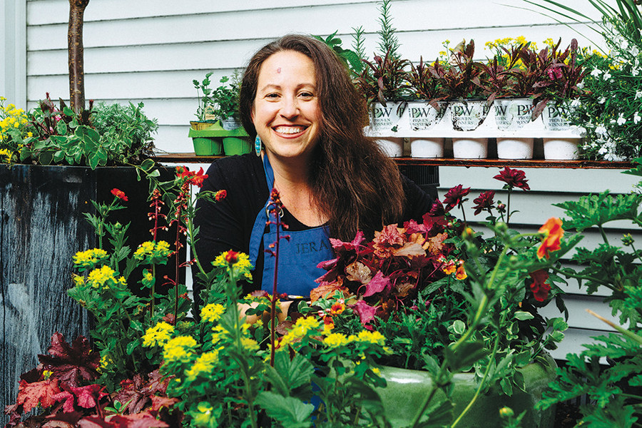 "While curb appeal is important in a garden, ""there is nothing that compares with using your windows as frames for natural, living art,"" says landscaper Deana Davis."
