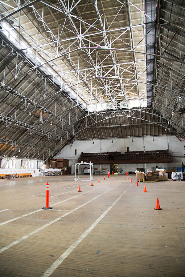 Inside the West Side's Cranston Street Armory