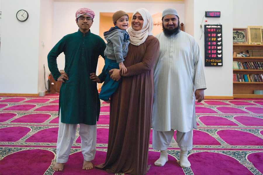 """For Imam Ikram ul Haq and his wife, Aisha Manzoor, """"interfaith outreach work is the most important"""""""