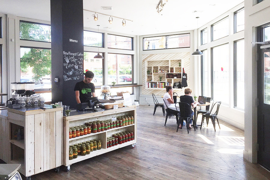 Harvest Kitchen Cafe & Corner Store offers locally made products in downtown Pawtucket