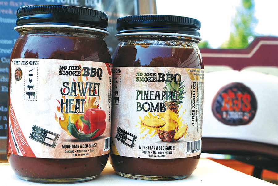 No Joke Smoke BBQ sauce is made right on the South Shore