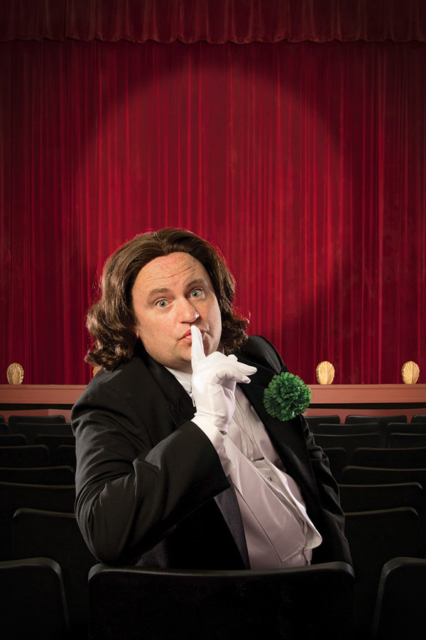 Brandon Whitehead in the Gamm's season opener, The  Importance of Being Earnest