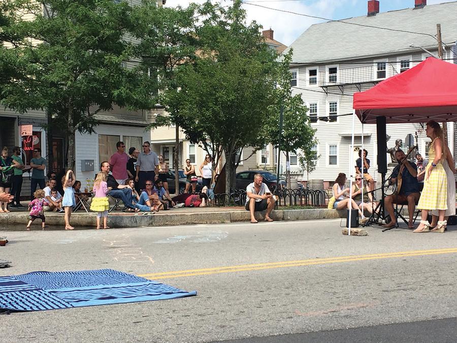 The first annual Fox Point Folk Festival