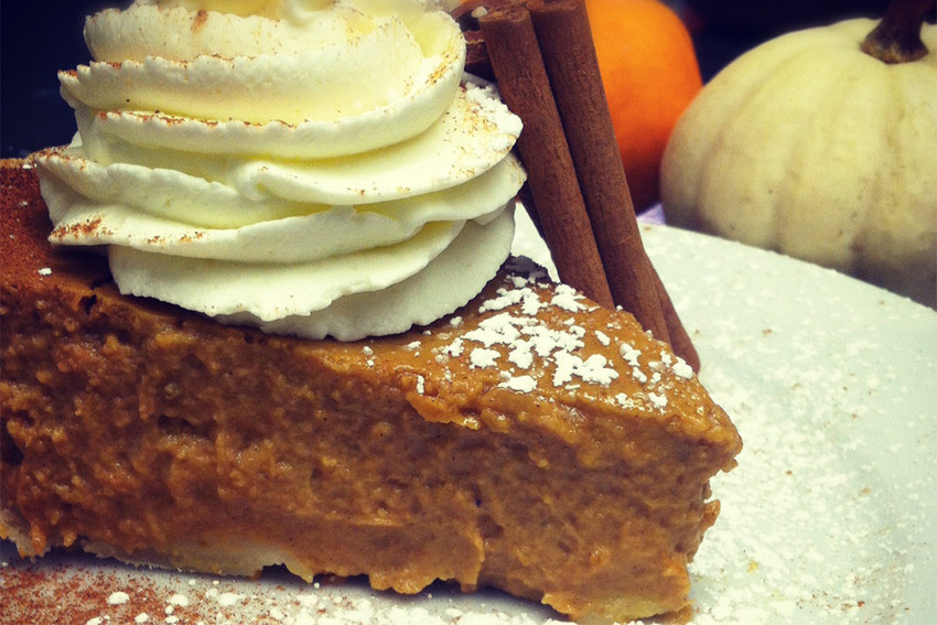Duck and Bunny's Pumpkin Pie