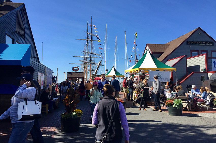The Seafood Festival returns to Bowen's Wharf on October 14