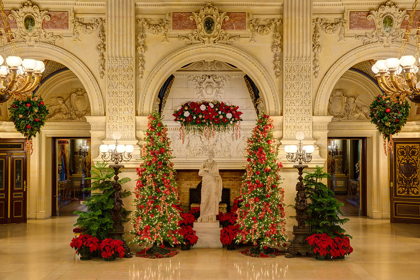 Celebrate Christmas at the Newport Mansions through January 1