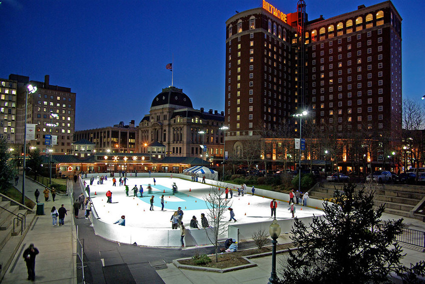 Head to the Providence Rink for the outdoor tree lighting ceremony on December 2