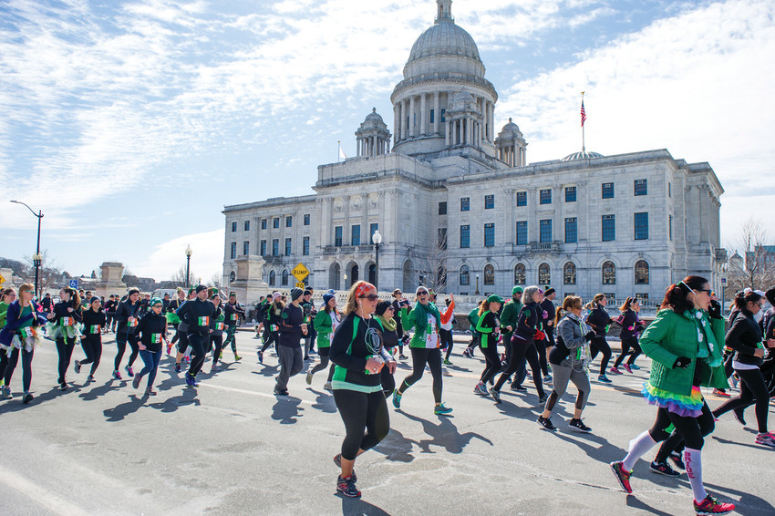 Put on your luckiest sneakers for Providence's Tour De Patrick 5k, March 10