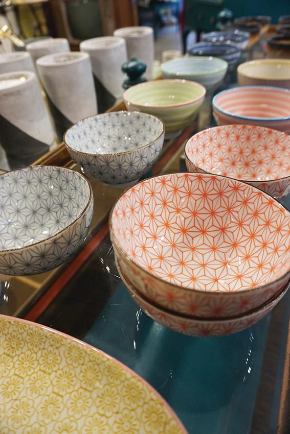 Rice bowls, $16 each