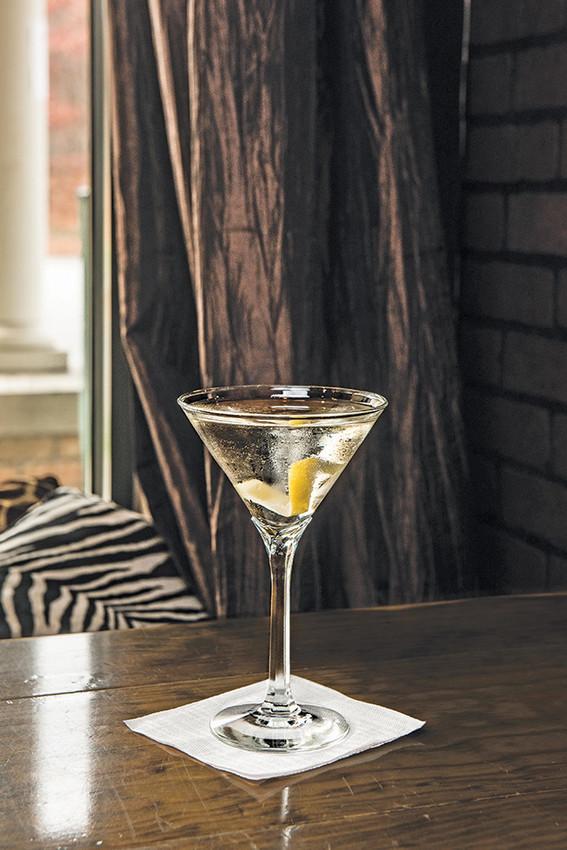 """""""The Pear Martini"""" at Rocco's Bistro"""