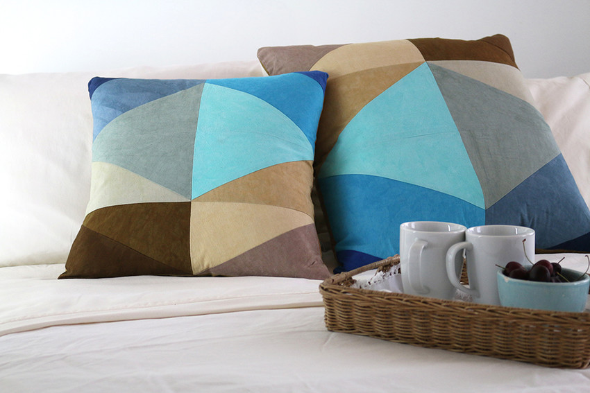 Shoreline Throw Pillows by DUNN