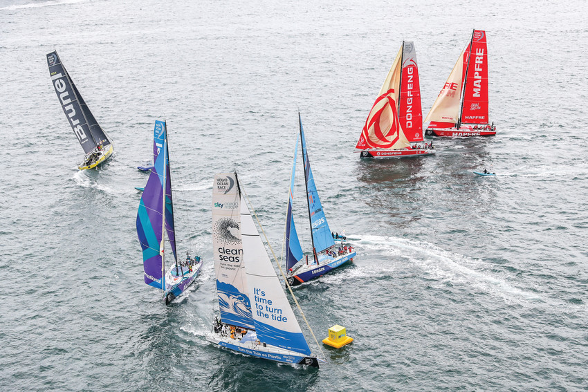 Sailors make a stop in Newport during the globe-spanning Volvo Ocean Race, May 8-May 20.