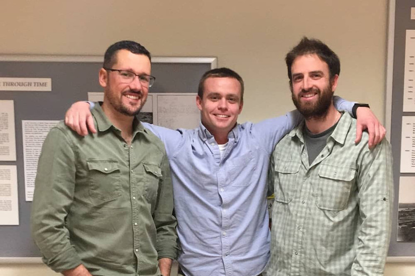 Rhodeside Revival founders Conor MacManus, Brendan Loflin, and Miguel Costa