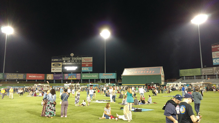 The PawSox Food Truck & Craft Beer Festival takes over McCoy Stadium, Sept. 15