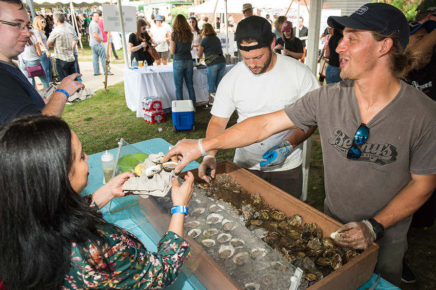 The Ocean State Oyster Festival returns to Riverwalk Park with the state's tastiest oysters and a celebration of RI's aquaculture.
