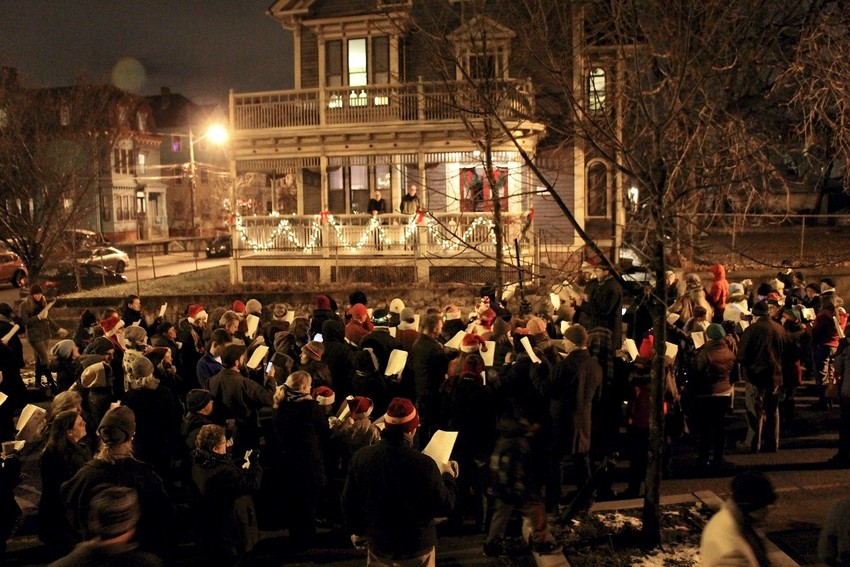 West Side Annual Caroling