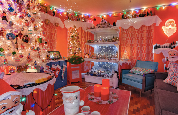 A peek inside the fun, festively decorated home of The Craft and Kitsch Winter Market founders