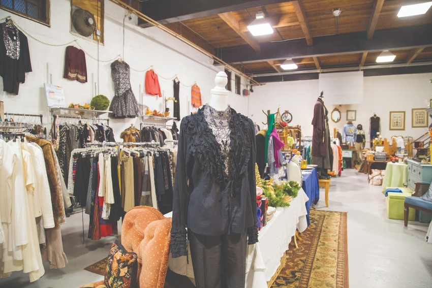The Thrifty Goose is a church thrift shop with style and a mission