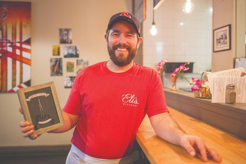 The most recent Food Network Chopped Champion hails from Warren, Chef Eli of Eli's Kitchen