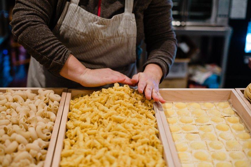 Fresh pasta from Prica Farina elevates even the most novice Italian cook's dish