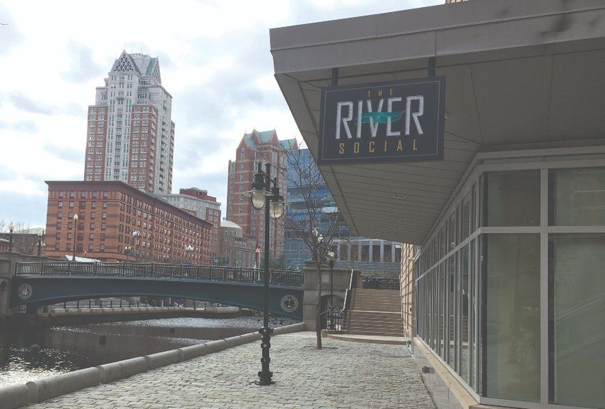 The recently opened River Social is in a hotspot location in Waterplace Park