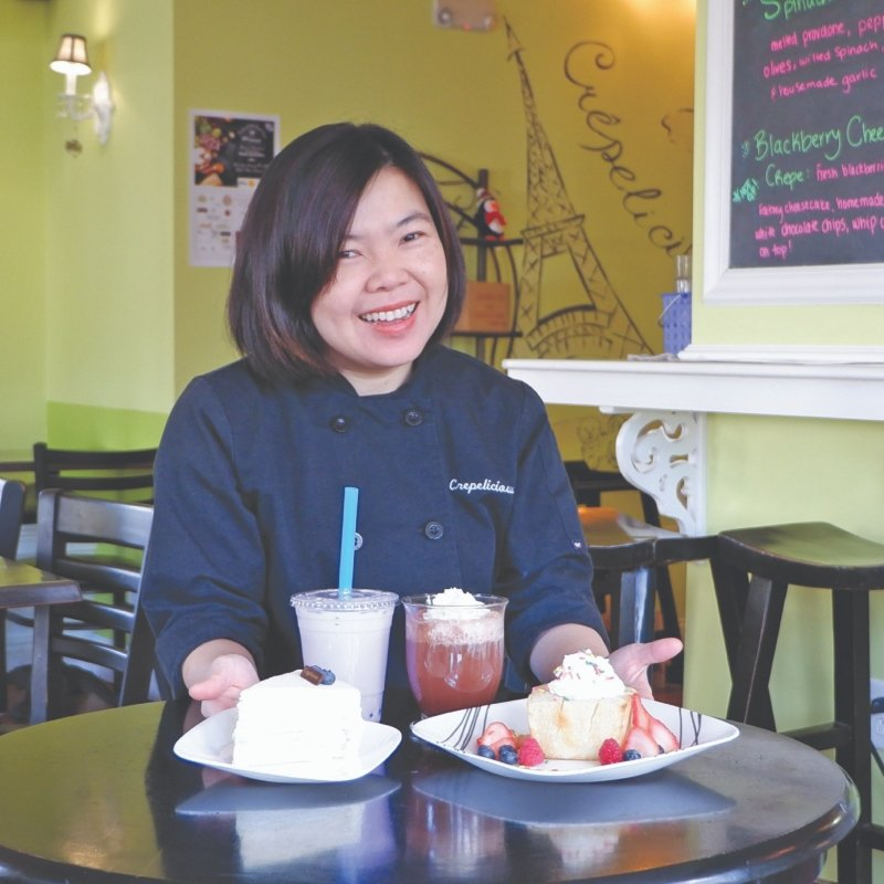 Leading Ladies 2019: Kanjana Chartratanavanich, Chef-Owner of Crepelicious in Barrington