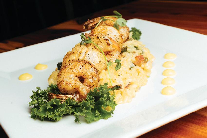 Scallop & Shrimp Piccata Risotto