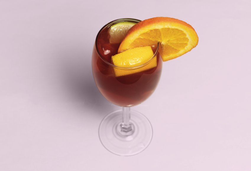 Keep scrolling to see some local ingredients for our sangria recipe.