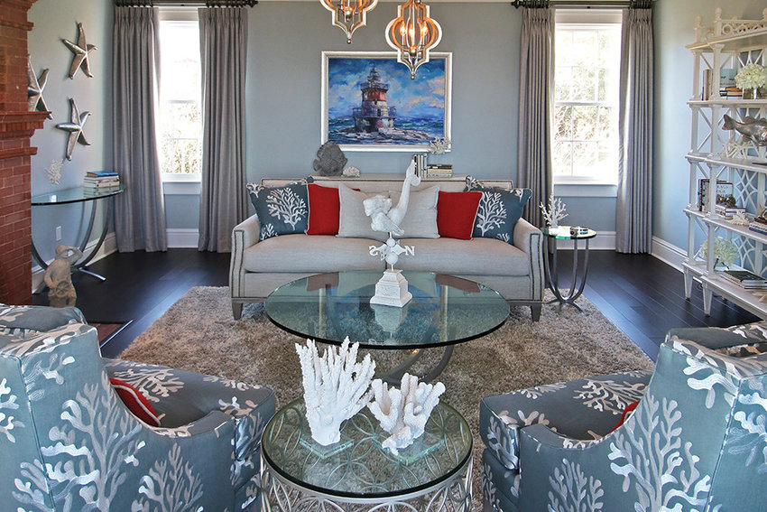 Design TIp: With careful planning you can mix color and texture with period details and current styles