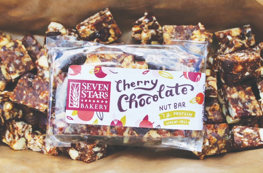 You'll go nuts for this delicious and nutritious protein snack from Seven Stars Bakery