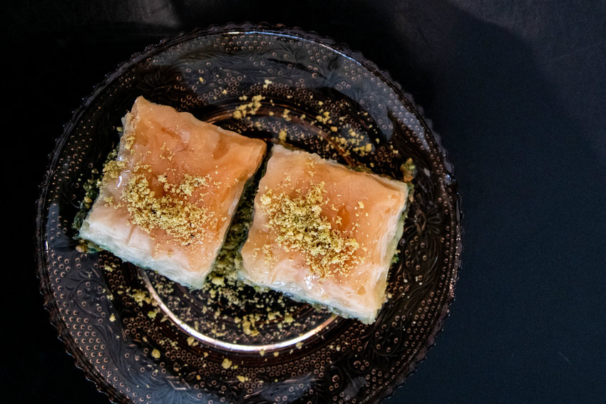 Youssef uses baklava to feed his creative soul and stay connected to home