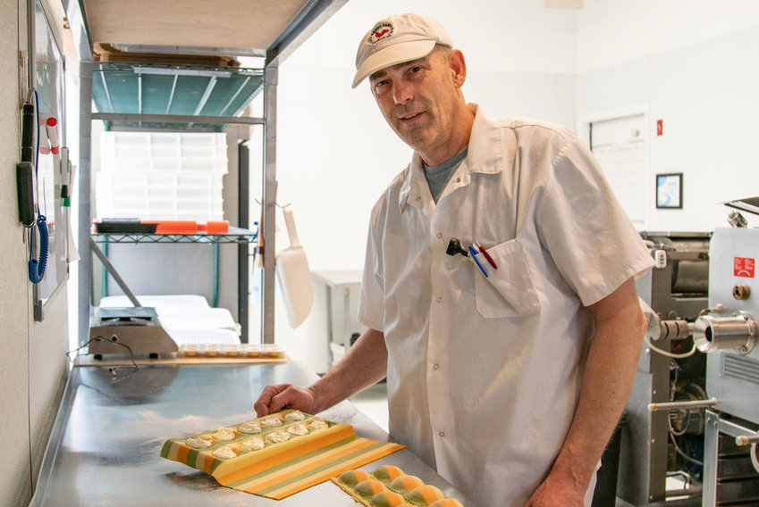 Steve Bird is the owner and operator of Ltl Rhody Pasta K.O.