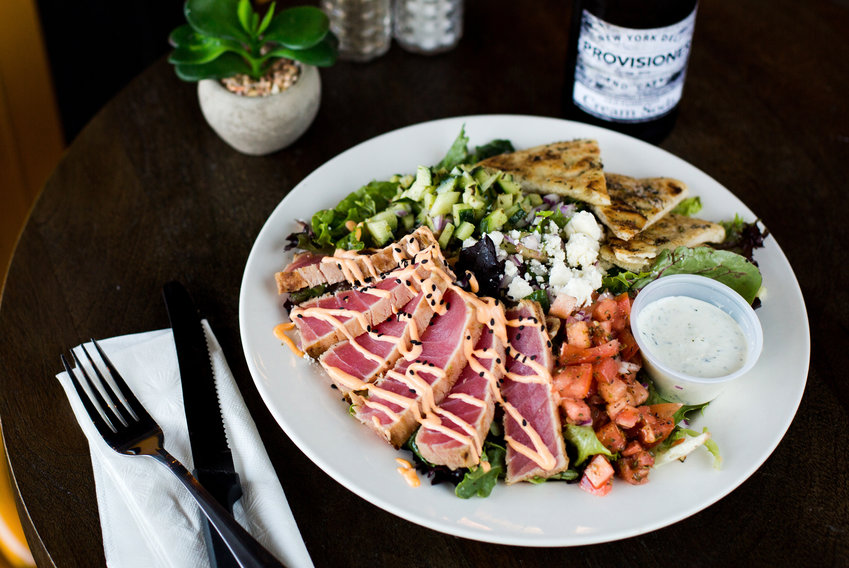 The Tribeca with Seared Ahi Tuna