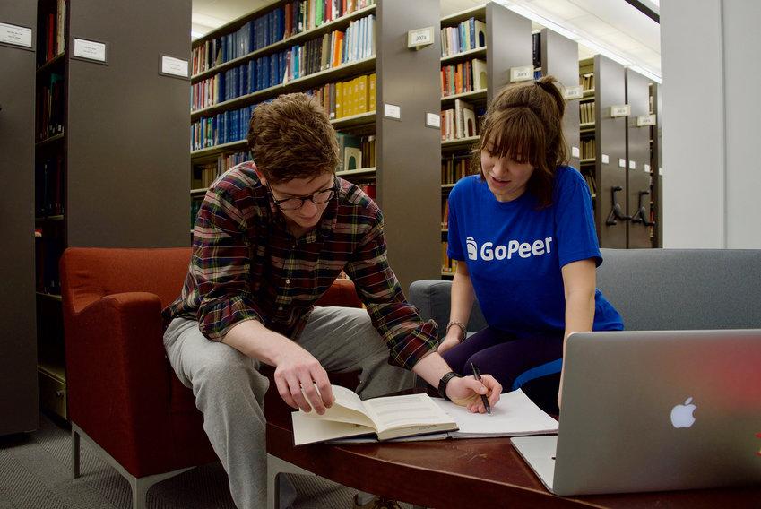 GoPeer tutor Alexandra clarifies calculus to David