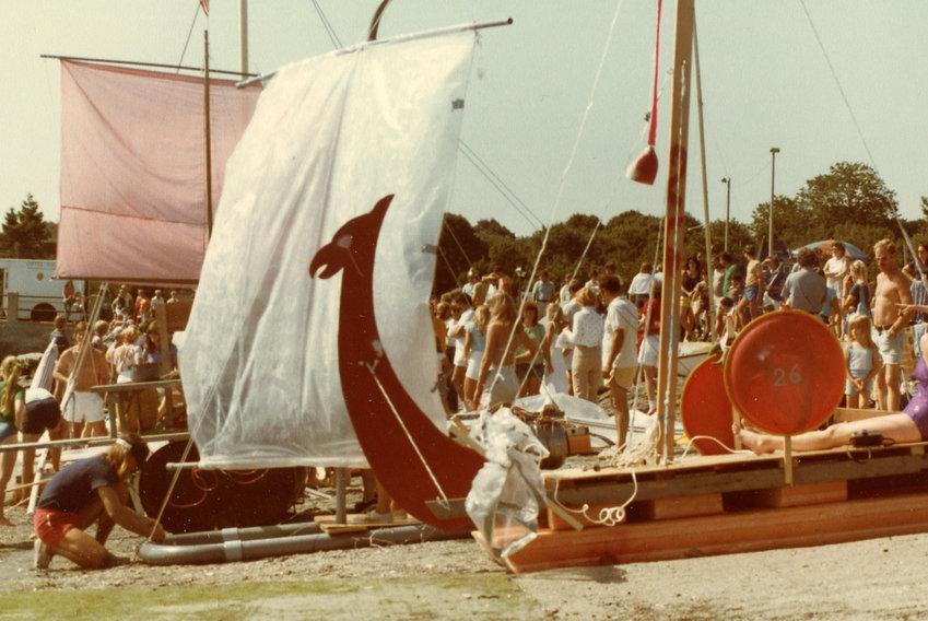 The annual regatta circa 1982