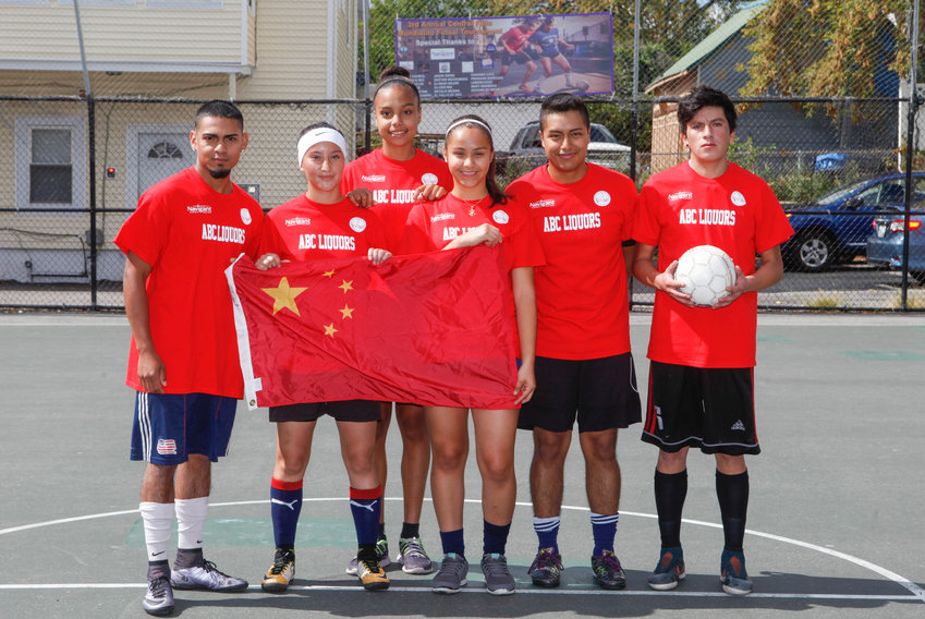 Team from the 2017   Mundialito Tournament