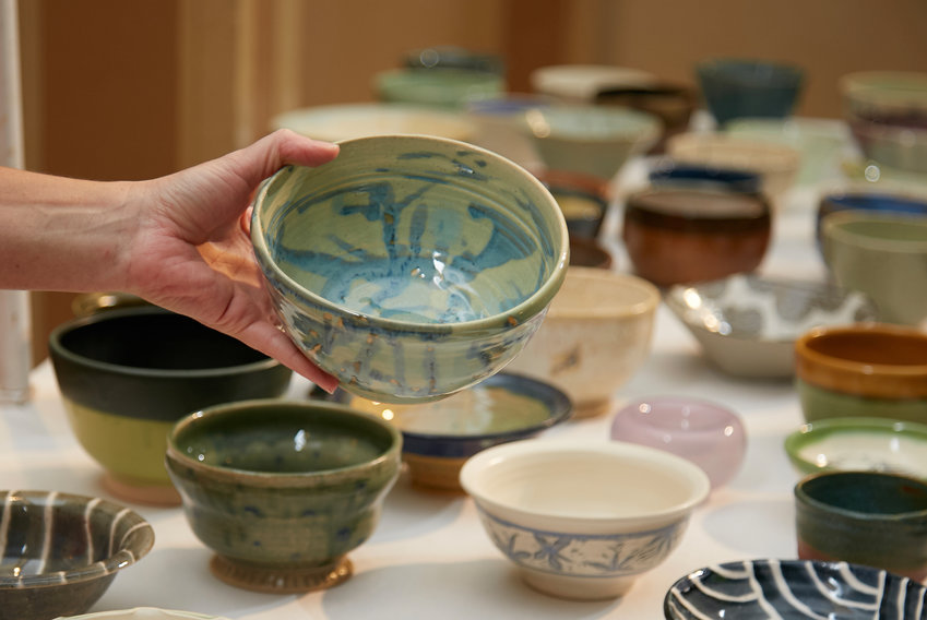 Find nearly 1,000 locally crafted ceramic bowls at this one-of-a-kind fundraiser