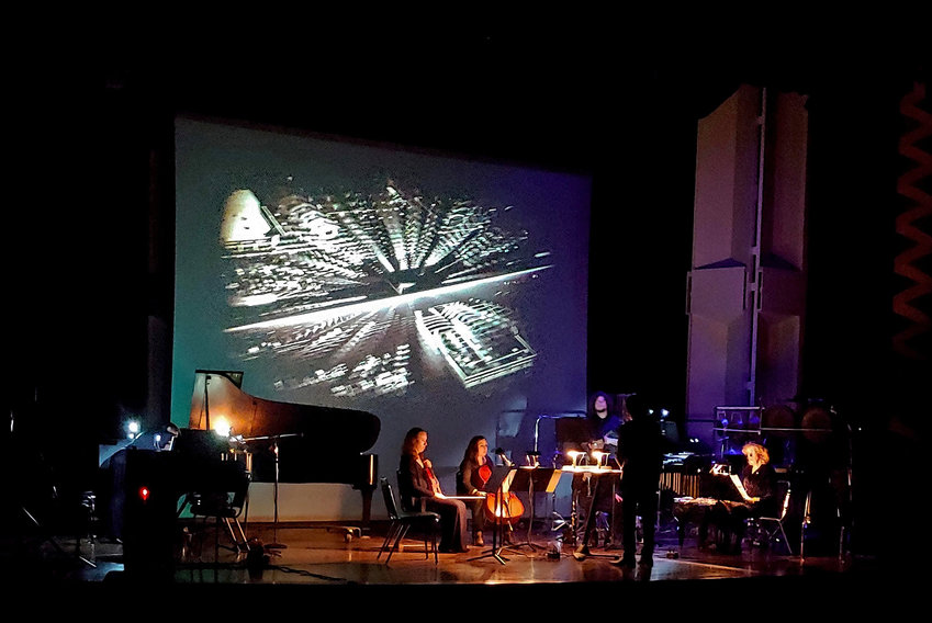 September 26: Ensemble/Parallax performs at  Rhode Island College