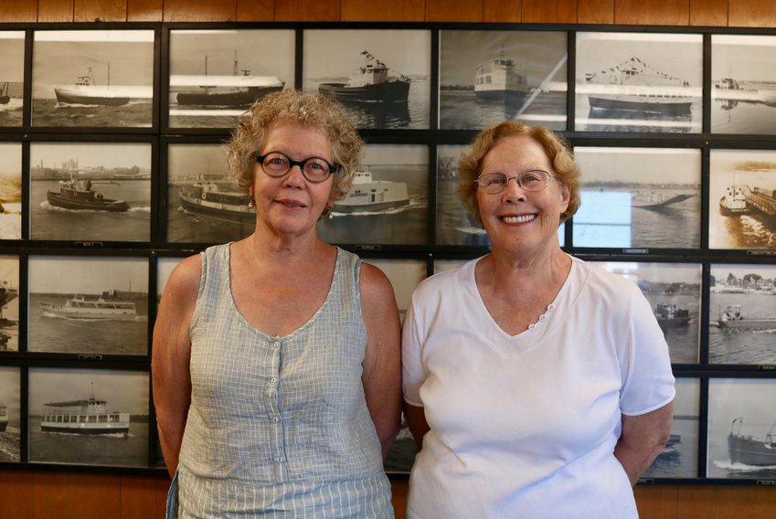 Julie and Marcia Blount carry on their father's 70-year legacy in boat-building