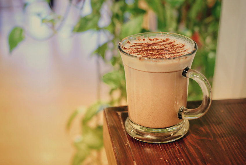 The Nook's signature hot chocolate is the base for its other inventive takes