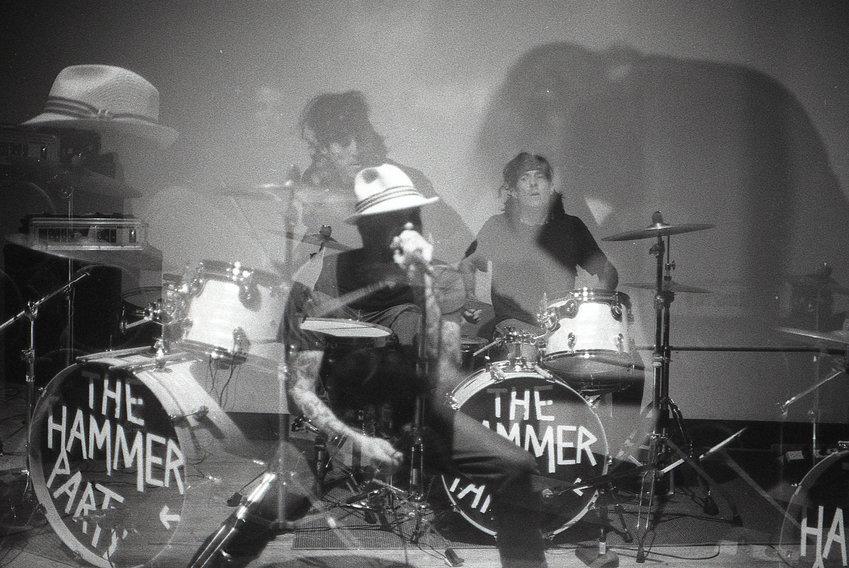 Dan St. Jacques and Joe Propatier, drums