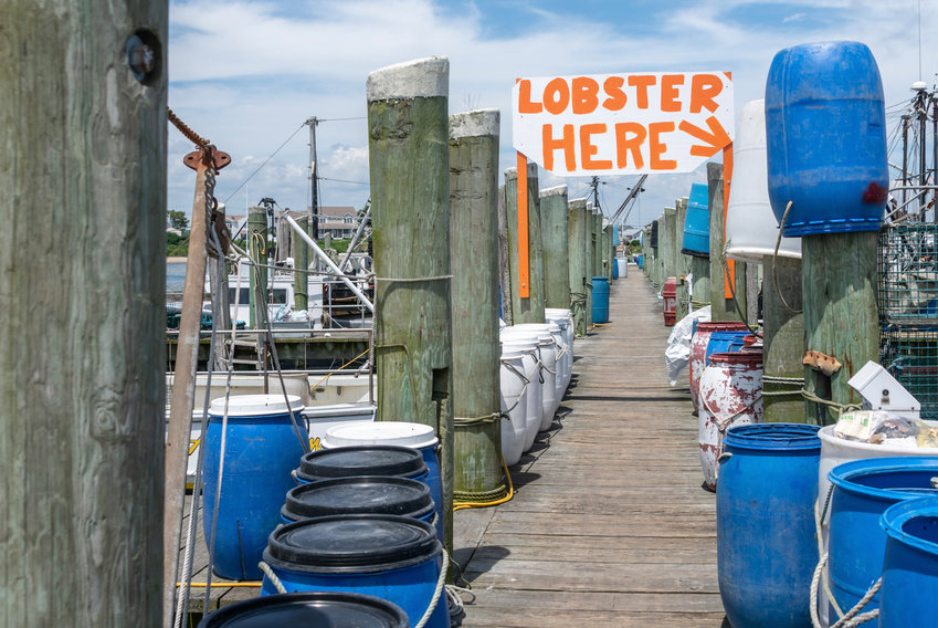 """Find the freshest seafood in Galilee, including New England summer fav: """"lobstah"""""""